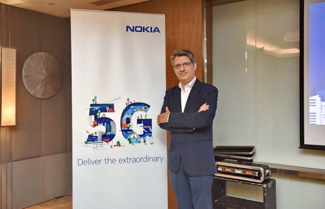 """""""โนเกีย"""" โชว์ ศักยภาพเชื่อมต่อแห่งยุคอนาคต โซลูชั่น 5G สำหรับประเทศไทย 4.0"""