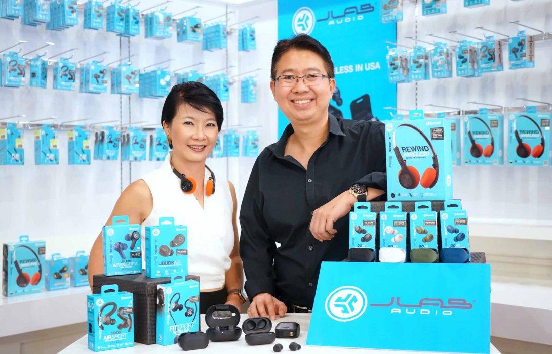 """""""อาร์ทีบีฯ"""" นำ """"JLab"""" แบรนด์ดังสัญชาติอเมริกา ขยายพอร์ตเจาะตลาดหูฟังระดับพรีเมี่ยมในไทย"""